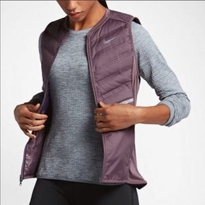 Nike | Purple Aeroloft Running Vest